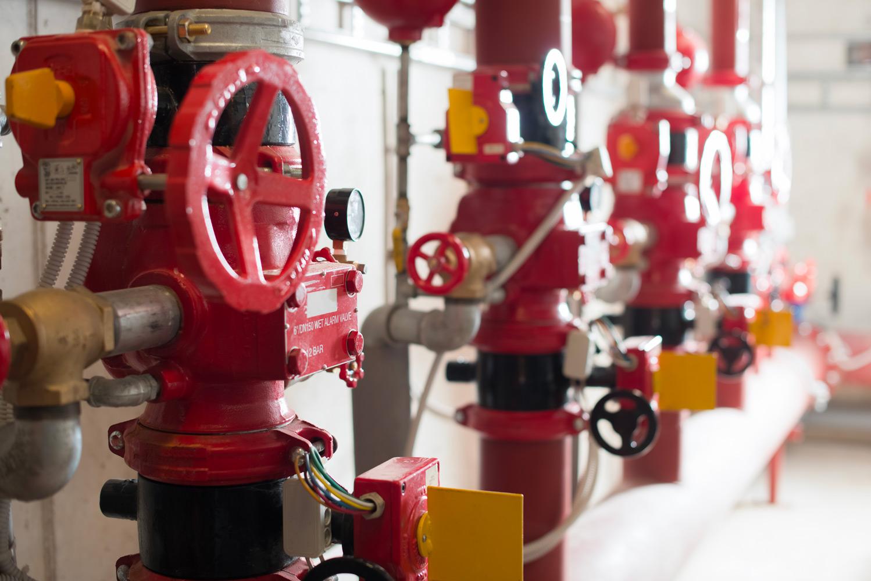 impiantistica antincendio   impianto antincendio sprinkler